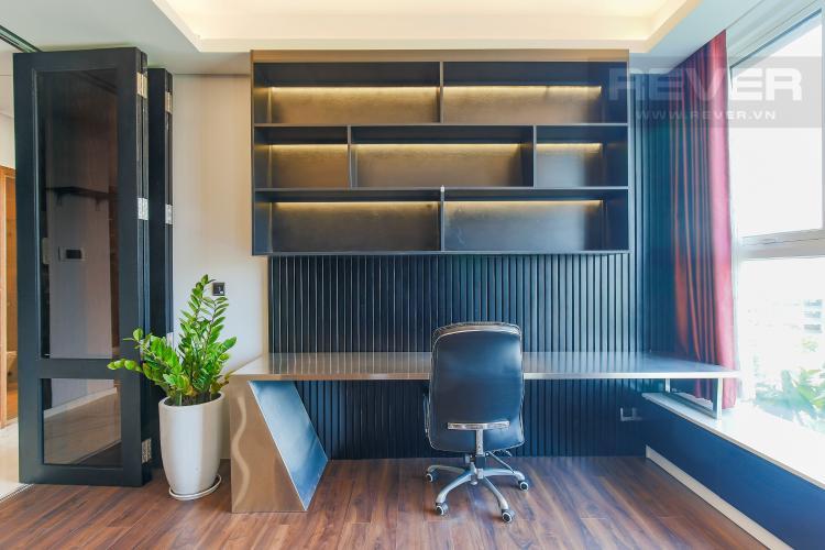 Phòng Làm Việc Cho thuê căn hộ Sarica Sala Đại Quang Minh 3PN, đầy đủ nội thất, view công viên mát mẻ