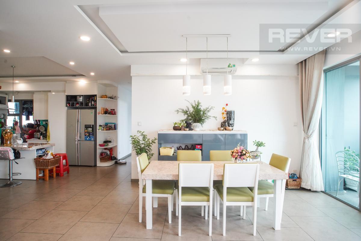 Phòng Ăn Bán căn hộ Riviera Point 3PN, diện tích 146m2, đầy đủ nội thất, hướng Đông Bắc, view thoáng mát