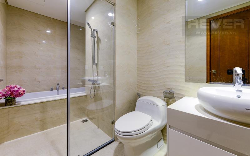 phòng tắm 1 Căn góc Vinhomes Central Park tầng cao Central 3 đầy đủ tiện nghi
