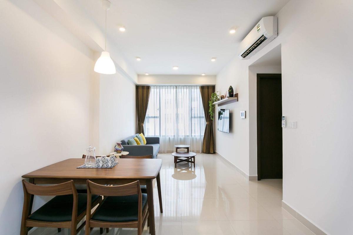 f6662f00dd6b3b35627a Cho thuê căn hộ The Tresor 2 phòng ngủ, tháp TS1, đầy đủ nội thất, view sông Sài Gòn