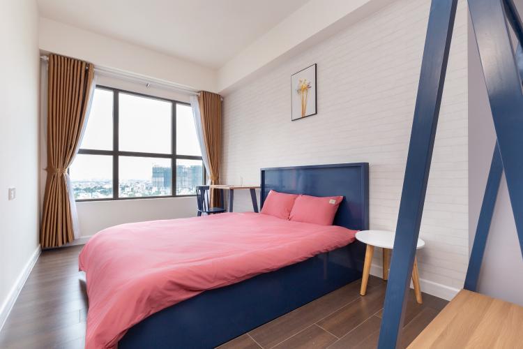 Phòng ngủ căn hộ The Sun Avenue Căn hộ The Sun Avenue tầng trung, view thành phố nhộn nhịp.