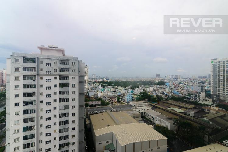 View Bán căn hộ The Gold View 1PN, tháp A, nội thất cơ bản, view kênh Bến Nghé