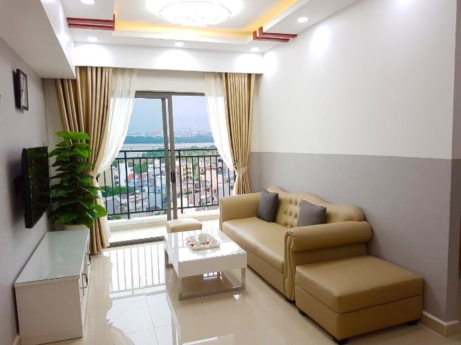 Cho thuê căn hộ The Sun Avenue 3 phòng ngủ tầng trung diện tích 109m2