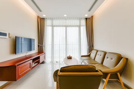 Căn hộ Vinhomes Central Park 2 phòng ngủ tầng trung P7 nội thất đầy đủ