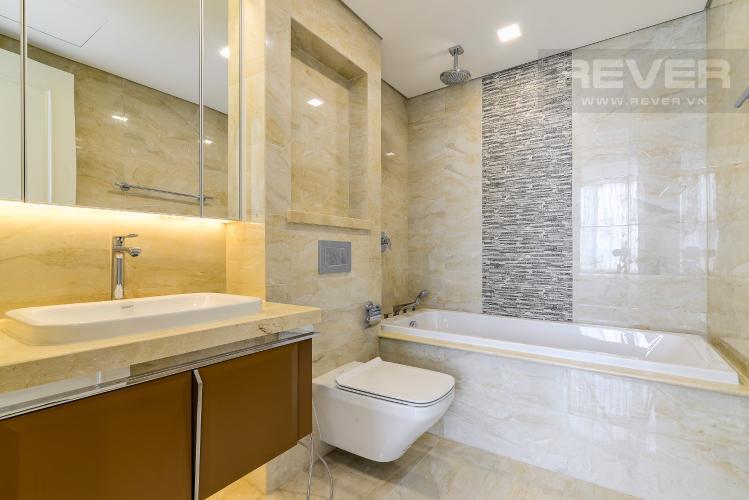 Phòng Tắm 2 Căn hộ Vinhomes Golden River 3 phòng ngủ tầng trung A4 hướng Tây Nam