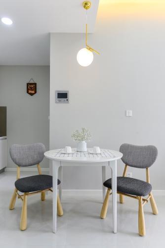 Phòng ăn căn hộ MASTERI AN PHÚ Cho thuê căn hộ Masteri An Phú 1PN, tầng 5, đầy đủ nội thất, view hồ bơi