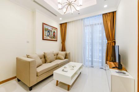 Officetel Vinhomes Central Park 1 phòng ngủ tầng thấp L5 nội thất đầy đủ