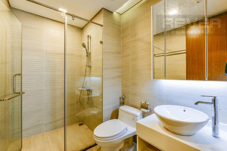 Phòng tắm 2 Căn hộ Vinhomes Central Park tầng cao tòa Park 6, 2 phòng ngủ, full nội thất