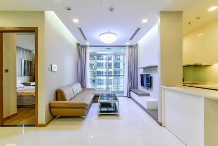 Căn hộ Vinhomes Central Park 2 phòng ngủ tầng trung P3 nội thất đầy đủ