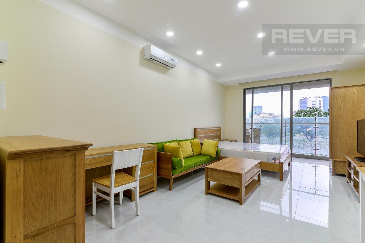 243ffd4ae13d07635e2c Bán hoặc cho thuê officetel Masteri Millennium, tầng 2, block A, đầy đủ nội thất, view kênh Bến Nghé và Bitexco