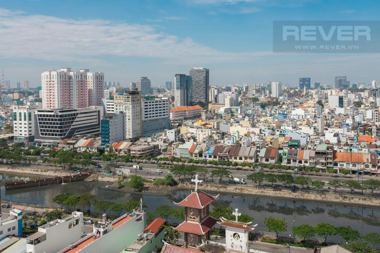View OfficeTel RiverGate Residence tầng cao tháp B view sông