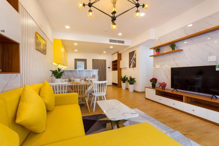 Bán căn hộ Saigon South Residence tầng trung, 3 phòng ngủ, diện tích 104m2, đầy đủ nội thất.