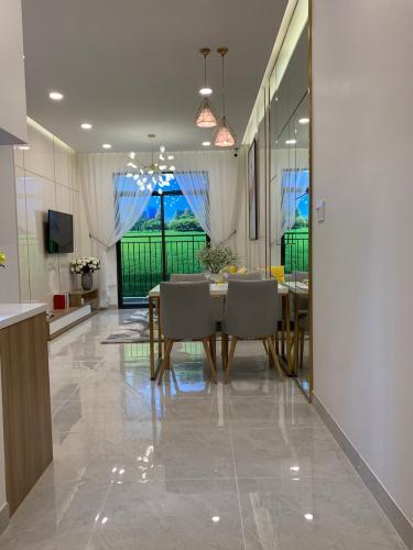 Nhà mẫu căn hộ Saigon Asiana, Quận 6 Căn hộ tầng 5 chung cư Saigon Asiana nội thất cơ bản, view thoáng mát.