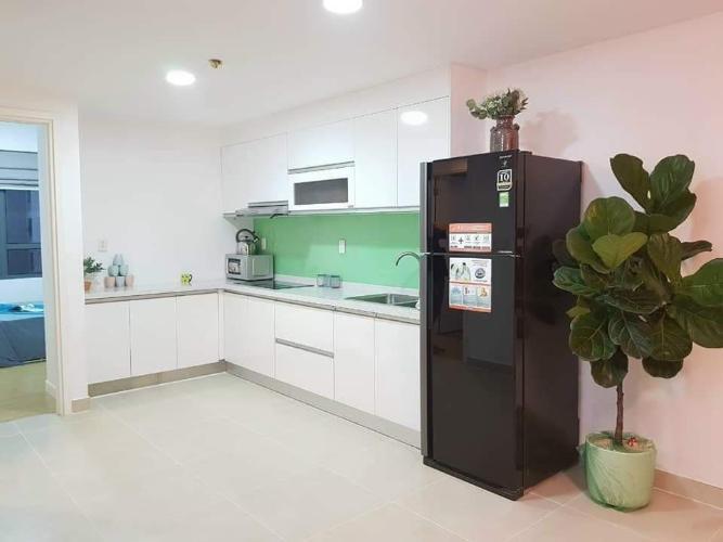 Phòng bếp Masteri Thảo Điền Quận 2 Căn hộ Masteri Thảo Điền view sông và biệt thự, tầng trung đón gió.