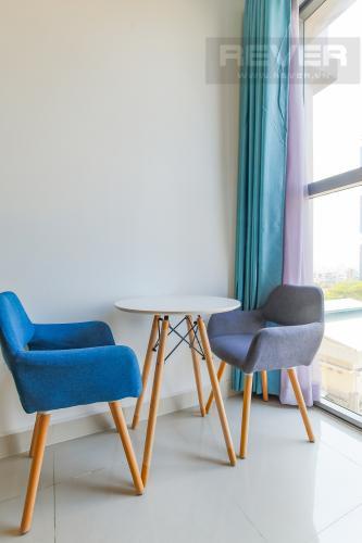 Bàn Khách Bán căn hộ The Tresor 1PN 1WC, đầy đủ nội thất, view hồ bơi