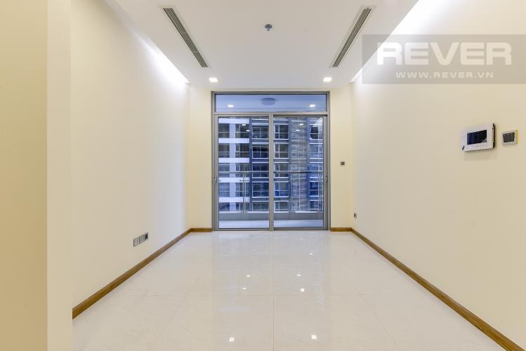 Phòng khách Căn hộ Vinhomes Central Park 2 phòng ngủ tầng cao P3 view sông