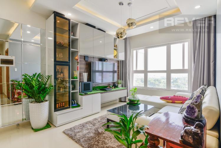 Phòng Khách Căn hộ SaigonRes Plaza 2 phòng ngủ tầng thấp block A