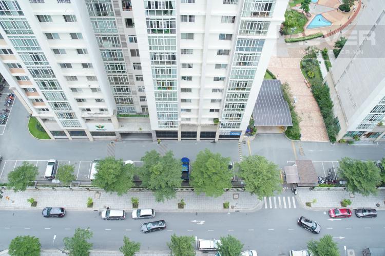 View Cho thuê căn hộ Lexington Residence 1 phòng ngủ, tầng trung, tháp LD, đầy đủ nội thất