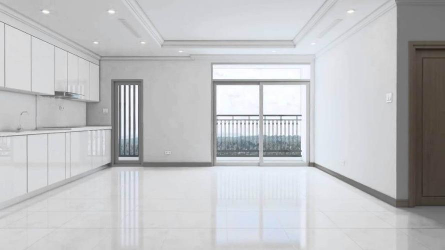 Phòng khách Vinhomes Central Park Căn hộ tầng cao Vinhomes Central Park nội thất cơ bản.