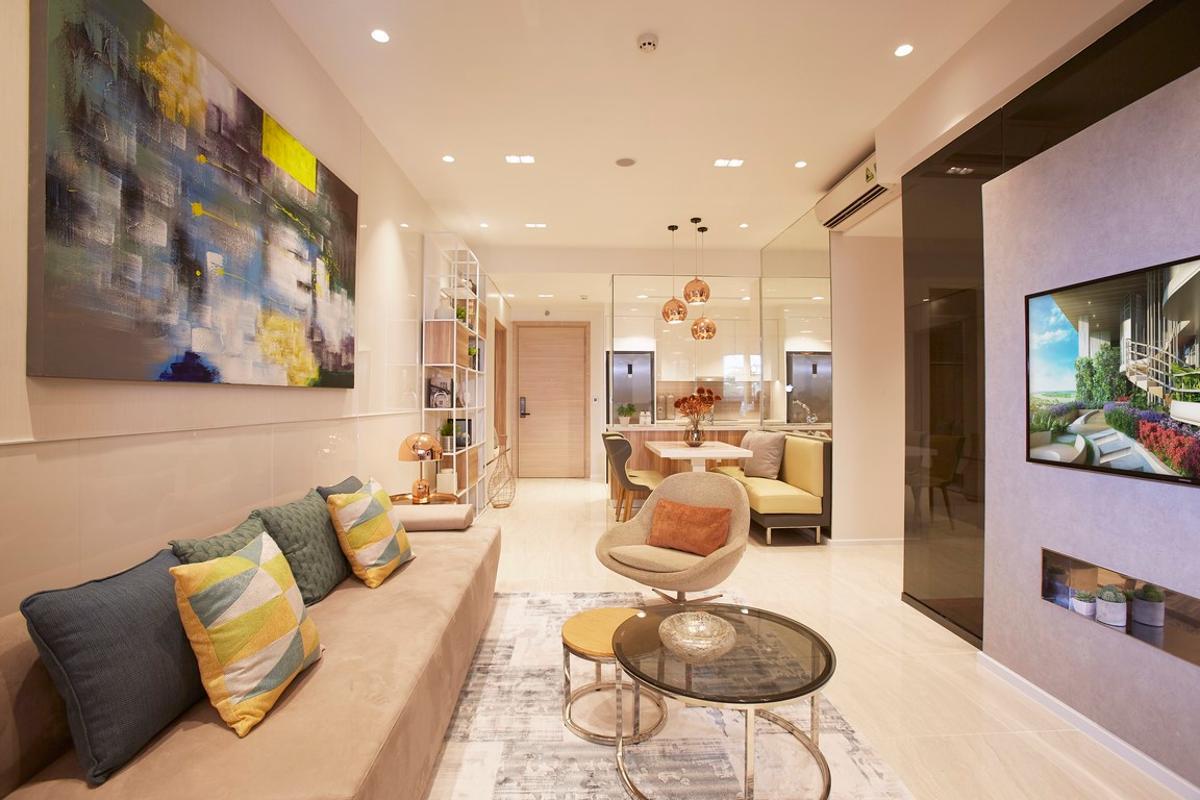 2BR-1 Bán căn hộ Q2 Thao Dien 3PN, tầng trung, diện tích 93m2, căn đẹp giá tốt, view sông