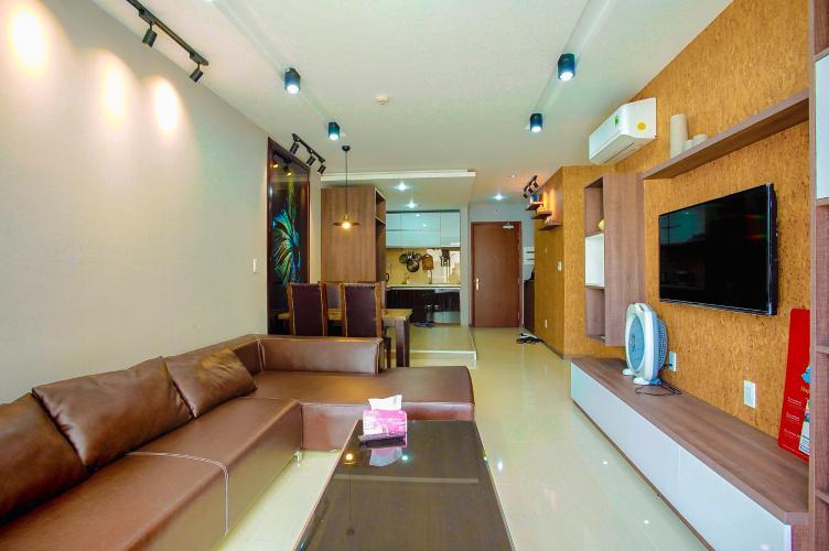 Cho thuê căn hộ The Gold View 2PN, tầng cao, tháp A, đầy đủ nội thất