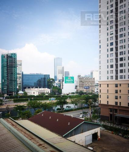 View Bán căn hộ Icon 56 1 phòng ngủ, tầng thấp, đầy đủ nội thất, view kênh Bến Nghé