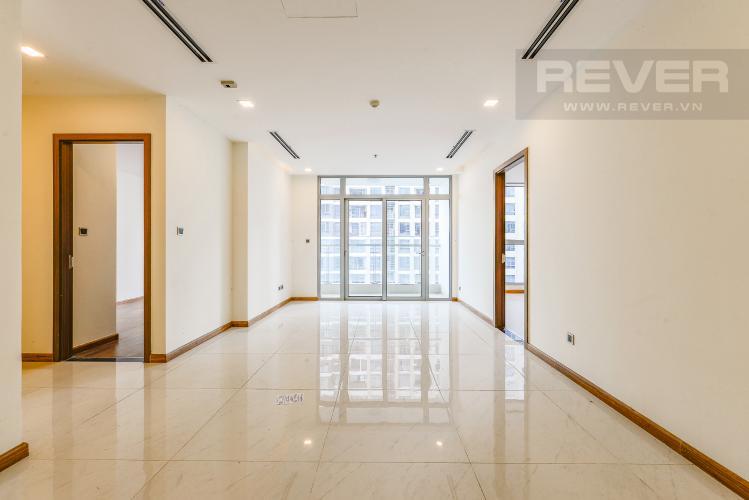 Phòng khách Bán căn hộ Vinhomes Central Park 3 phòng ngủ tầng cao view sông tháp Park 1 mới 100%