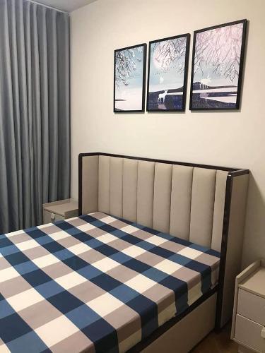 Phòng ngủ căn hộ Feliz en Vista Căn hộ Duplex Feliz En Vista tầng cao view thành phố
