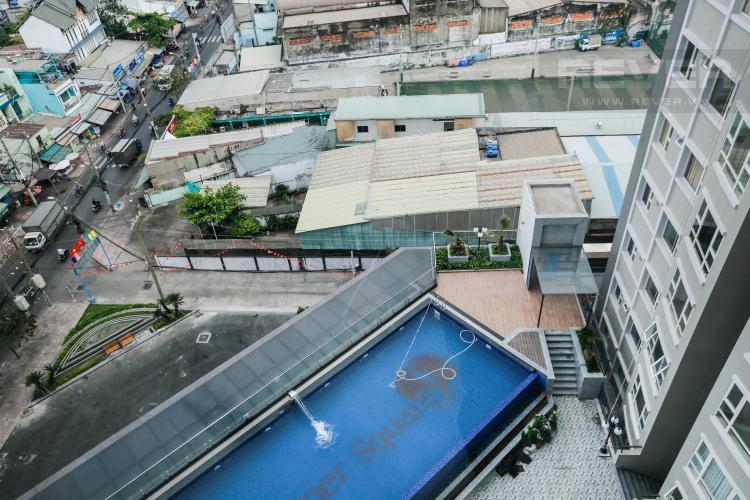 View Căn hộ Summer Square 2 phòng ngủ tầng cao, nội thất cơ bản