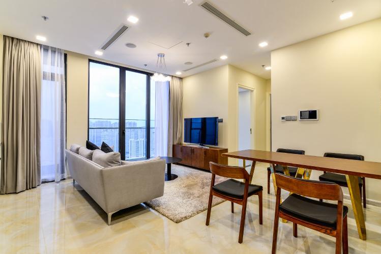Căn hộ Vinhomes Golden River 2 phòng ngủ tầng cao A3 nội thất đầy đủ