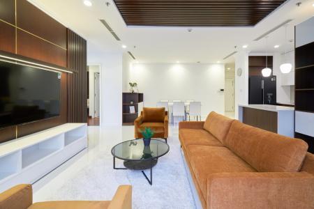 Bán căn hộ Vinhomes Central Park 3PN, tháp The Central 3, đầy đủ nội thất, thiết kế sang trọng