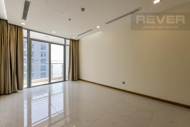 Phòng khách Officetel Vinhomes Central Park 1 phòng ngủ tầng cao P7 view sông