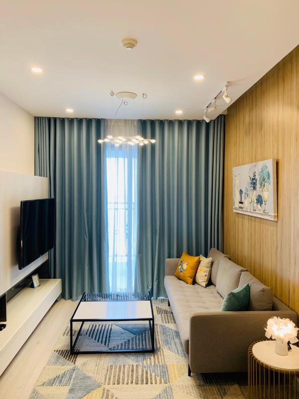 2d388270e6f501ab58e4 Cho thuê căn hộ Saigon Royal 1 phòng ngủ, tầng 23, tháp A, đầy đủ nội thất, hướng Tây Bắc