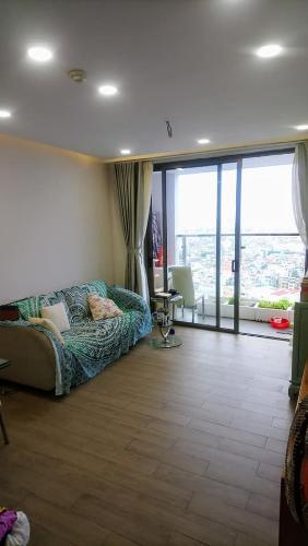 Phòng khách Kingston Residence, Phú Nhuận Căn hộ view thoáng mát Kingston Residence đầy đủ nội thất.