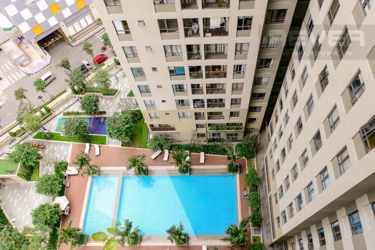 View Căn hộ Masteri Thảo Điền 2 phòng ngủ tầng trung T3 nội thất đầy đủ