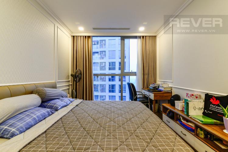 Phòng Ngủ 2 Căn hộ Vinhomes Central Park tầng cao, tháp Park3, 2PN đầy đủ nội thất