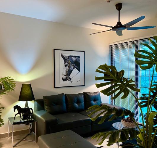 Căn hộ Feliz En Vista đầy đủ nội thất xinh xắn và tinh tế.