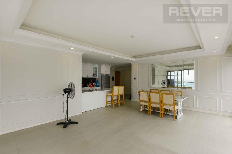 Phòng Khách Bán hoặc cho thuê căn hộ Diamond Island - Đảo Kim Cương 3PN, là căn góc, tháp Bora Bora, view sông thoáng đãng