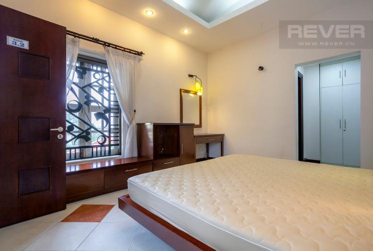 Phòng Ngủ Căn hộ dịch vụ 1 phòng ngủ đường Số 22 Quận 2 nội thất có sẵn