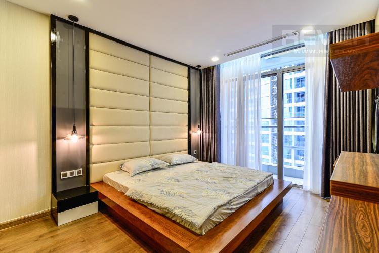 Phòng Ngủ 1 Bán căn hộ Vinhomes Central Park tháp Park 2 tầng trung, 2 PN và 2WC, đầy đủ nội thất