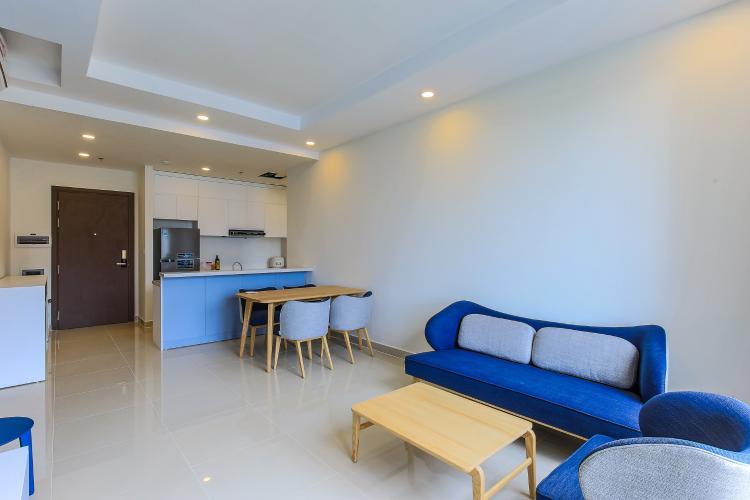 Căn hộ The Tresor 2 phòng ngủ tầng cao TS1 đầy đủ nội thất