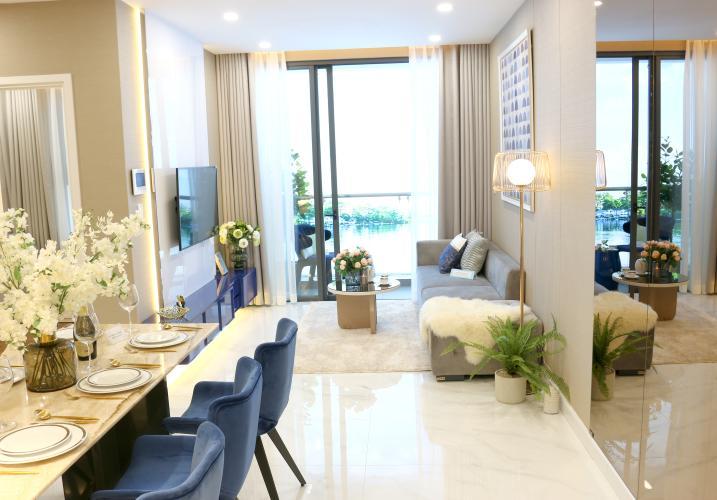 Bán căn hộ tầng cao D'Lusso 2 phòng ngủ, khu vực phát triển vượt bậc.