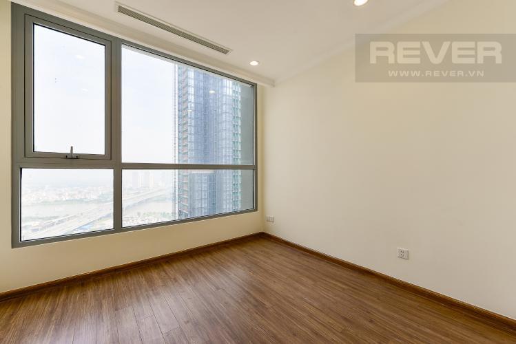 Phòng ngủ 2 Căn hộ Vinhomes Central Park 2 phòng ngủ tầng cao L3 nội thất cơ bản