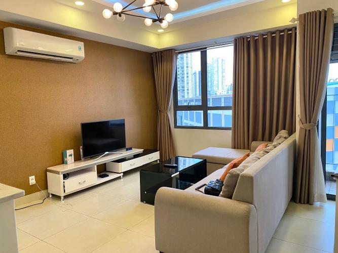 Phòng khách Masteri Thảo Điền Quận 2 Căn hộ Masteri Thảo Điền đầy đủ nội thất, view thoáng mát.
