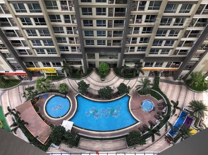 VIEW Bán căn hộ Vinhomes Central Park tầng thấp, tháp Landmark 5, đầy đủ nội thất, view hồ bơi và mé sông