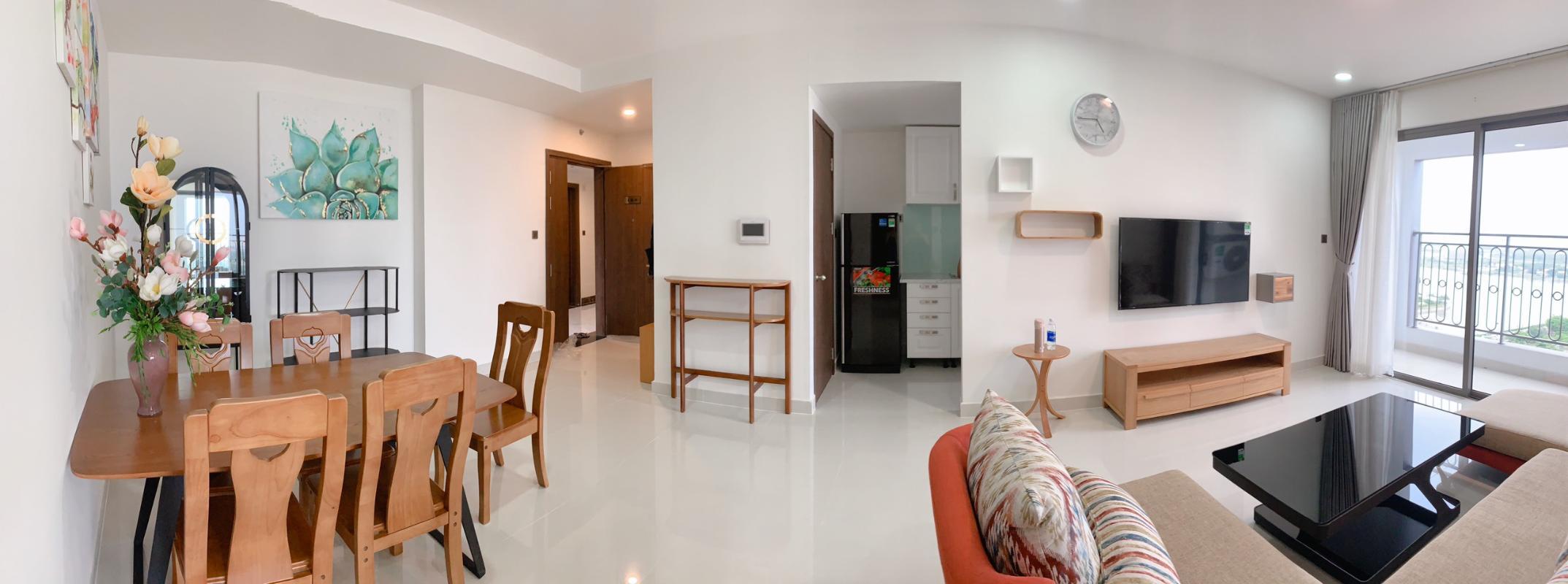 0d083267054fe311ba5e Bán hoặc cho thuê căn hộ Saigon Royal 3PN, tháp A, đầy đủ nội thất, view sông và Bitexco