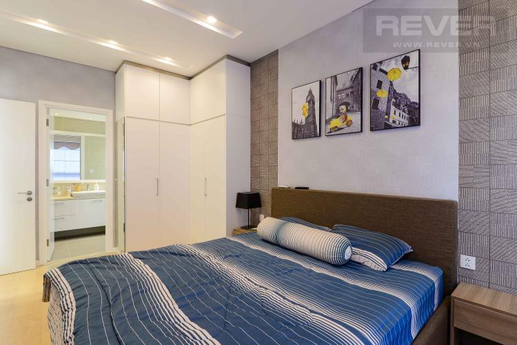 Phòng Ngủ 1 Cho thuê căn hộ Diamond Island - Đảo Kim Cương, tháp Hawaii, đầy đủ nội thất, view trực diện sông