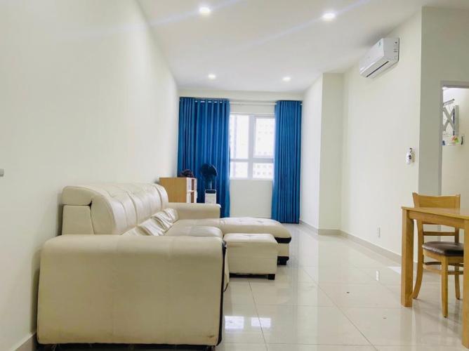 Căn hộ Topaz Elite tầng 11 view thoáng mát, đầy đủ nội thất hiện đại.