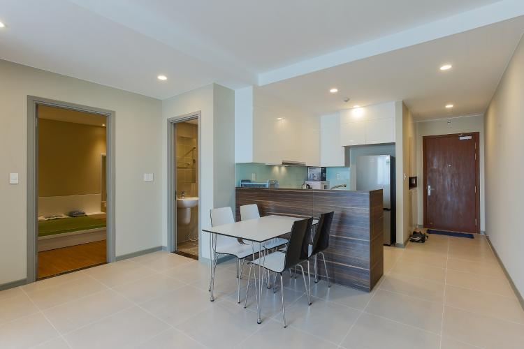 Căn hộ The Gold View 2 phòng ngủ tầng cao tháp B đầy đủ nội thất