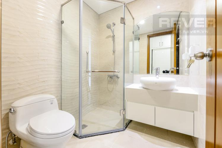 Phòng tắm 2 Căn hộ Vinhomes Central Park 3 phòng ngủ tầng trung L6 nhà trống
